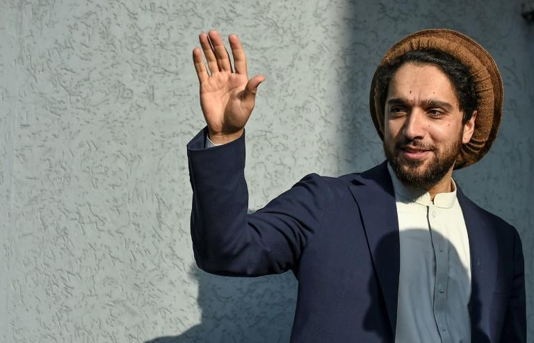 Ahmad Massoud plans to officially launch his political movement on September 5 in Panjshir, Afghanistan (AFP Photo/WAKIL KOHSAR)