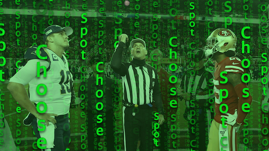 'Spot and Choose' could solve NFL OT