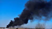 Fires from CP Rail train derailment under control: safety officials