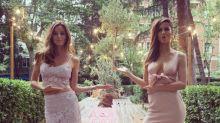 Ariadne Artiles y su hermana Aída, protagonistas de los premios Elle Gourmet