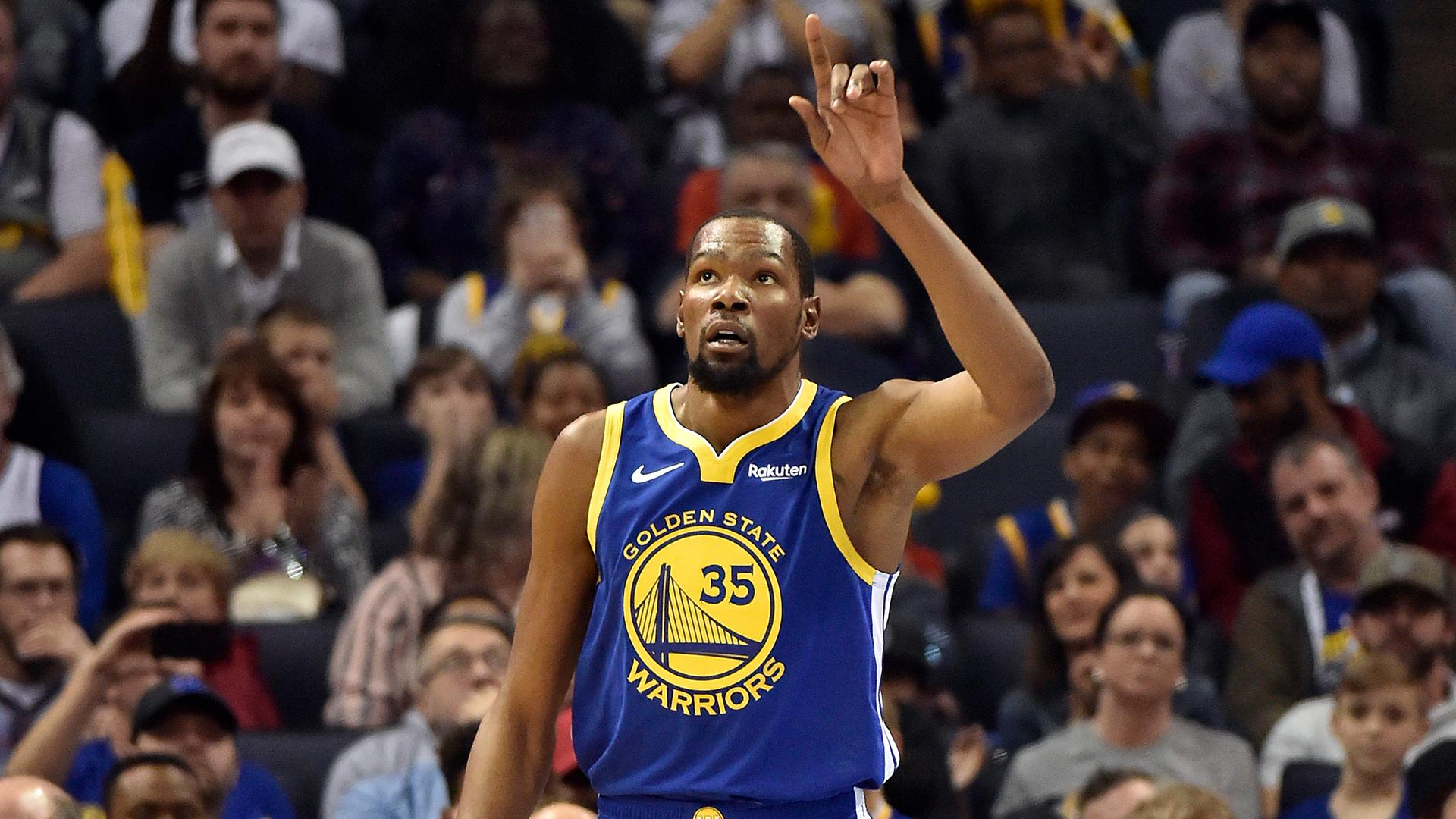 bf8e0968d4d6 Kevin Durant is doing  whatever he wants  against Warriors  opponents