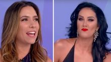 Silvio Santos presenteia Helen Ganzarolli com colar e Patrícia Abravanel se enfurece: 'Biscate'