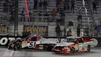 Final Laps: Busch halts Peters' late charge