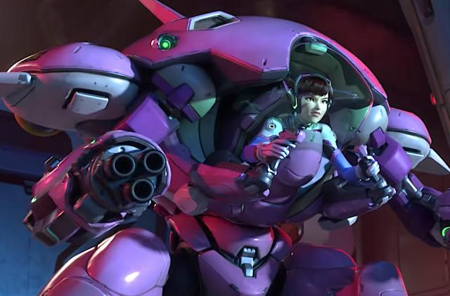 New 'Overwatch' map spotlights D.Va and the MEKA Squad