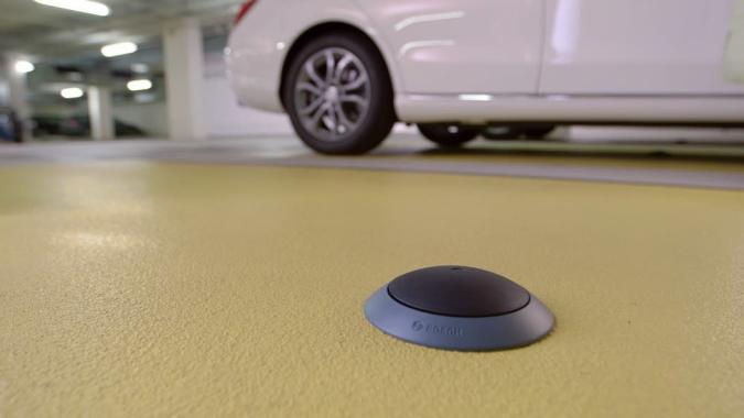 Bosch entwickelt Parkplatzsensor für entspanntere Shopping-Samstage