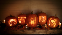 These insanely detailed Halloween-movie themed pumpkins will blow your mind