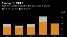 Asia Dollar Bond Sales Drop to Spill Into 2019 on Yield Woes