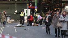 Several people stabbed at hall near London Bridge, eyewitness says