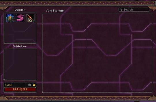 Patch 4.3: Void Storage prices revealed