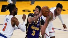 NBA: Lakers keep Knicks waiting for playoff berth after thrilling win; Pacers frustrate Sixers