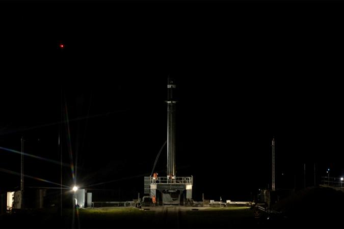 Rocket Lab's 'Pics Or It Didn't Happen' mission on the launch pad