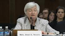 Stocks fall on fine print from Yellen