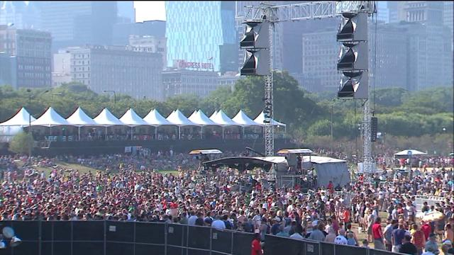 Lollapalooza kicks off in Chicago