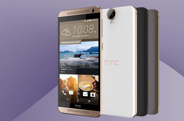 HTC's One E9+ is its latest phablet with a stunning screen
