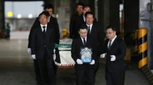 Bodies of five South Korean mountaineers brought home