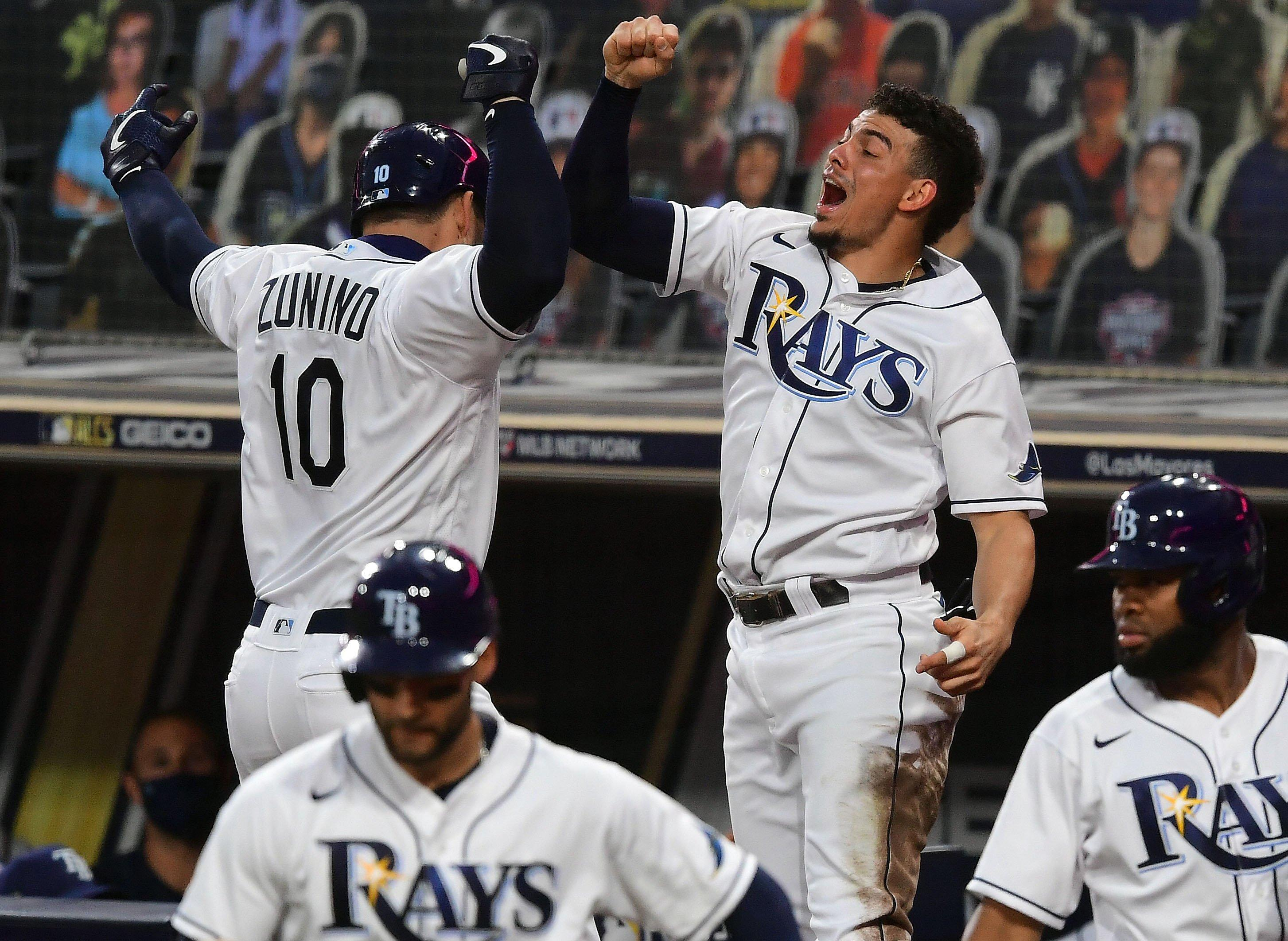 Tampa Bay Rays win American League pennant; will face Dodgers or Braves in World Series