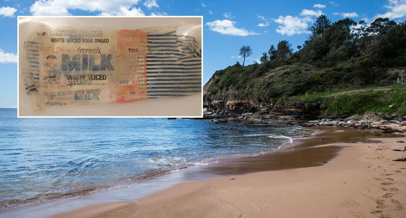 'I think you found a relic': Troubling item washes up on Sydney beach
