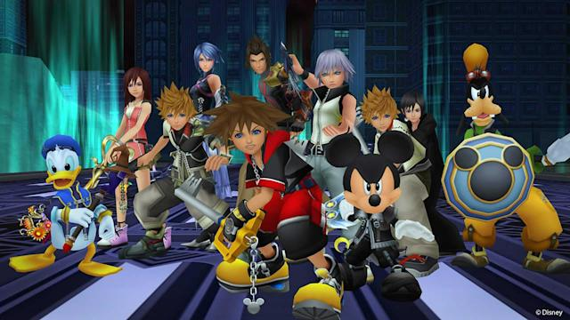Eight 'Kingdom Hearts' games make their debut on Xbox One