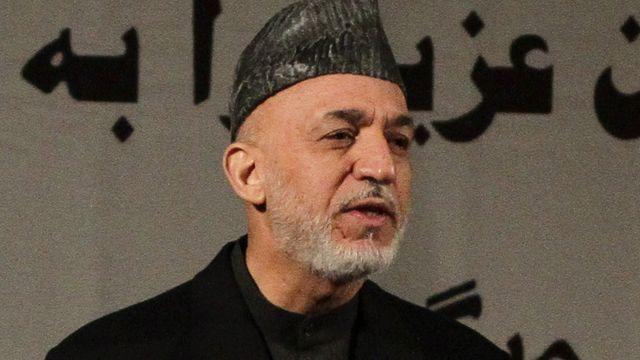 Afghan President Karzai persists with anti-American remarks