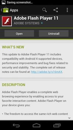 Adobe Flash Player, Netflix streaming apps updated for Ice Cream Sandwich