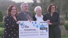 Bristol family win £18m lottery jackpot