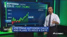 Autodesk approaches all-time high after strong earnings