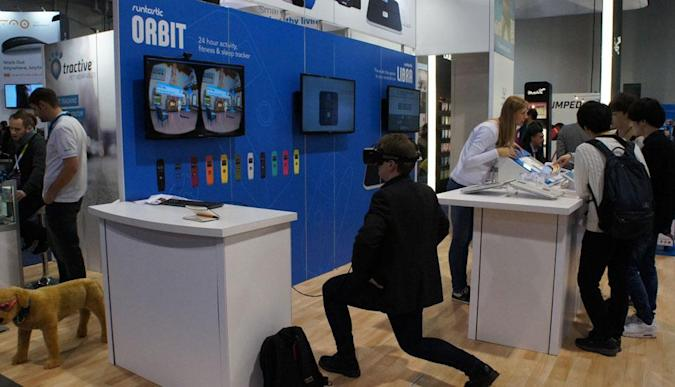 Runtastic shows us what it's like to do a workout wearing an Oculus Rift