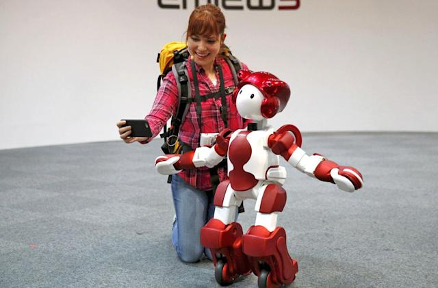Hitachi's answer to Pepper the robot is swifter and sturdier