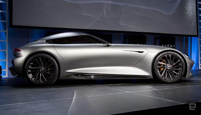 Karma's latest supercar concept boasts neck-snapping power