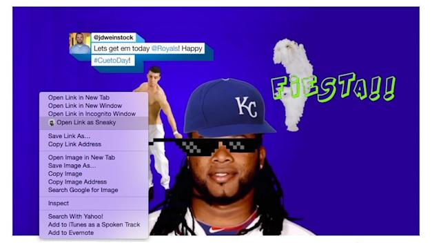 Open this link as a different user with Chrome Canary's new feature