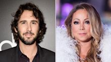 Josh Groban Deletes TweetJoking About Mariah Carey's New Year's Eve Performance: 'Not Out to Diss Artists'