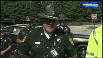 Raw Video: Police explain chain of events in I-93 crash