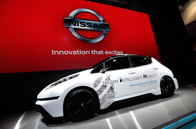 Self-driving Nissan LEAFs will hit London streets next month