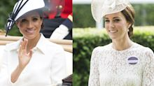 Meghan and Kate's First Royal Ascots