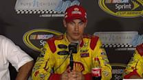 Logano talks victory and Chase hopes