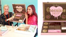 Too Faced's all-chocolate makeup vault has arrived