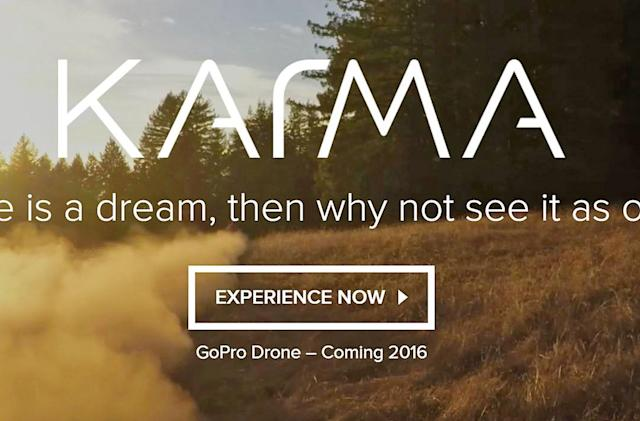 GoPro delays its Karma drone until this holiday season