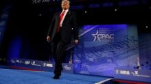 Trump vows military build-up, hammers nationalist themes
