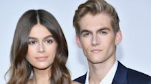 Kaia Gerber's brother got her name tattooed on his body — is that weird or what?