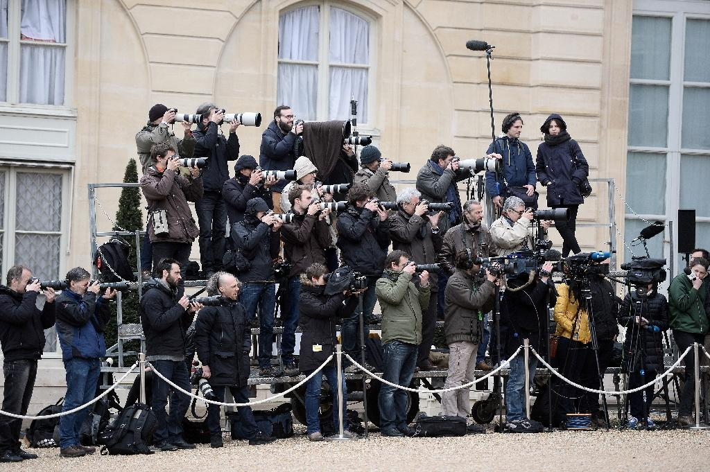 "Europe remains the region with the most press freedom but is nevertheless on ""a downhill course"", according to Reporters Without Borders (AFP Photo/Stephane de Sakutin)"