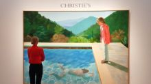 David Hockney painting auctions for record $90M
