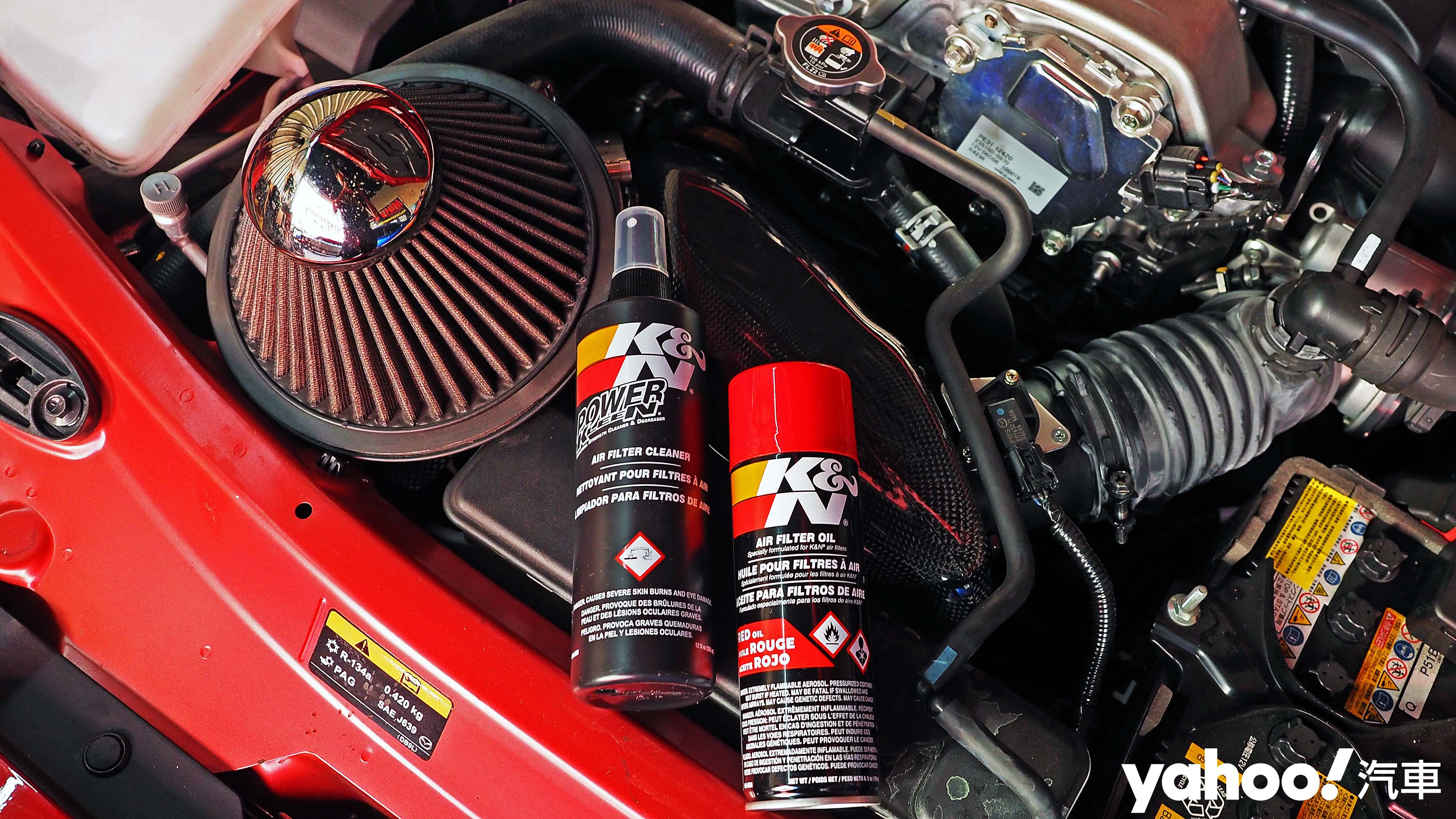 大口吸氣更帶勁!K&N高流量空氣濾芯與專用清潔保養組超划算開箱!