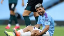 Sergio Agüero could return for Manchester City against Arsenal