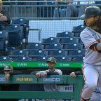 Brandon Crawford's two-run homer