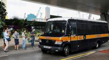 Hong Kong court denies bail to first person charged under new law