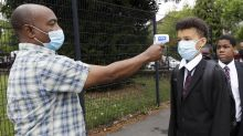 'Very low' rates of coronavirus in schools, British study finds