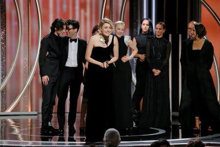 'Three Billboards' wins big as Golden Globes power through ...