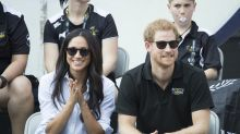 Meghan Markle wears top named the 'husband shirt' for PDA-packed appearance with Prince Harry