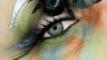 Maquillaje artístico espeluznante: descúbrelo