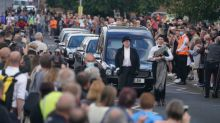Jack Charlton funeral: Thousands line streets of Ashington to pay respects to England legend